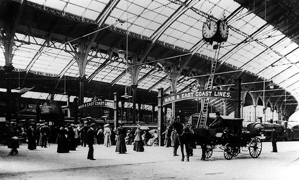 Brighton Train Station 1882. Photo courtesy of www.lookingatbuildings.org.uk
